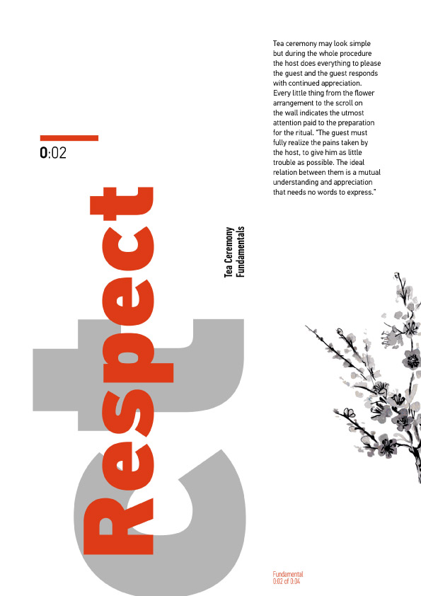 Tea ceremony – explored through poster design – Jack Beaumont